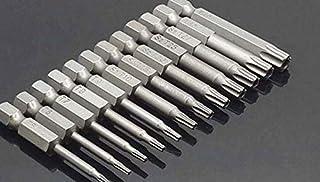 WHHHuan 50mm 8pcs ou 12 pcs Set Security Security Tournevis magnétique Tournevis magnétique de Forage Vis de vissage Bits ...