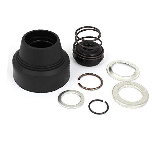 X-DREE Gummi-Elektrowerkzeug-Elektroschlagkopfdeckel schwarz für Hochleistung bosch PA6-GF30(0ae-57-2c-8b4)