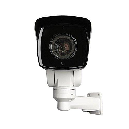 New 4MP 10x Optical Zoom Mini PTZ Outdoor IP Camera POE IR H.265 IP66 Audio & Alarm I/O Port HD TF Card Slot Contains Bracket