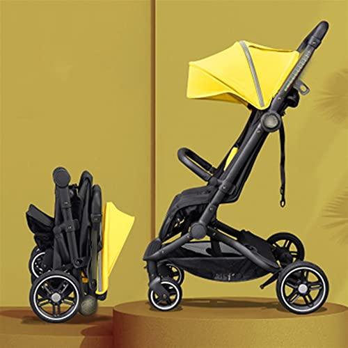 Cochecito de bebé Sentado y Mentira Super Light Carrito Plegable para bebés...