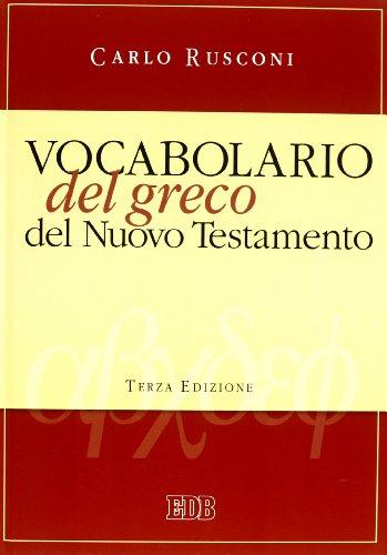 Vocabolario del greco del Nuovo Testamento