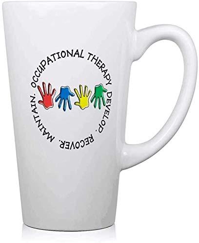 77 xiochgzish OT Circle Hands 2.PNG Taza de café Taza Divertida Vaso de Leche Grande Taza de Agua 17 oz Regalo de cumpleaños Regalo de San Valentín