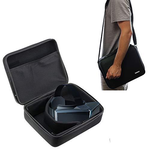 Navitech Robuste Schwarze Eva - Tragetasche für VR - und AR - Headsets Kompatibel mit Dem StarVR