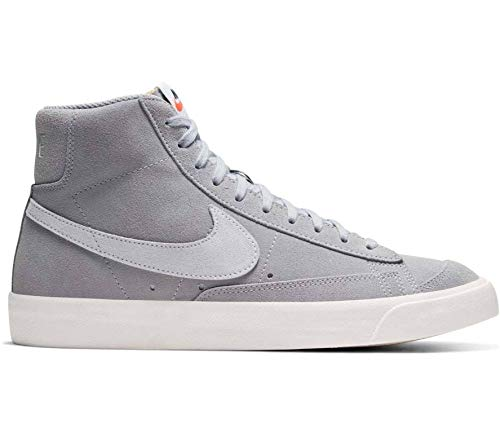 Nike CI1172-001, Scarpa da Basket Uomo, Wolf Grey/Pure Platinum/Sail, 45 EU