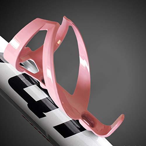 Janly Clearance Sale Sports & Outdoor - Soporte para botellas de agua para bicicleta (nailon), color rosa