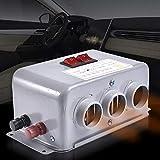 Cracklight Chauffage électrique 12 V - Silencieux - Télécommande avec thermostat LCD - Pour camping-car,...
