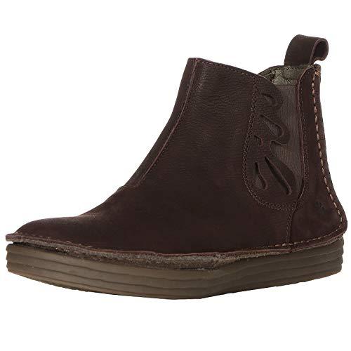 El Naturalista Damen Schuhe Stiefeletten Pleasant 5048 Brown/Rice Field 40