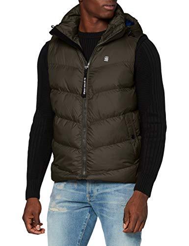 G-STAR RAW Whistler HDD Vest Chaqueta, Asfalt B958-995, S para Hombre