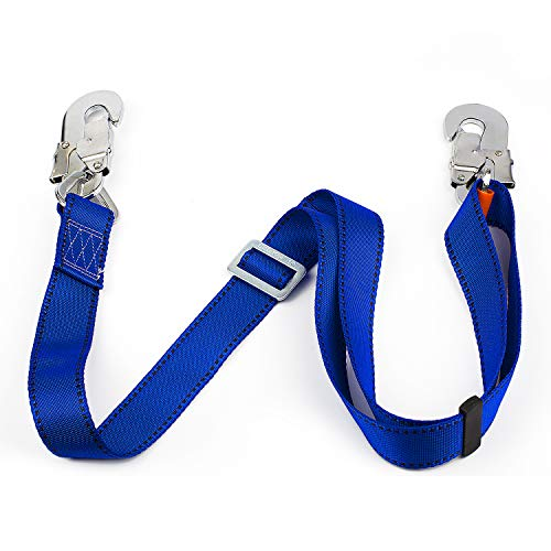JINGYAT Safety Harness - Tree Climbing Belt, Linemans Belt, Add Level of Safety for Hunting,Hanging Stand, Putting Up Deer Stand,Trimming Tree,Installing Steps, Ladder Or Climbing