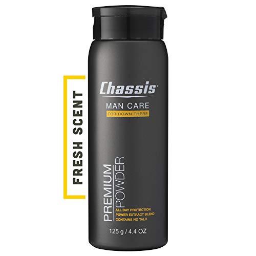 Chassis Premium Körperpuder Für Männer - Bekämpft Schweiß, Geruch und Wundscheuern