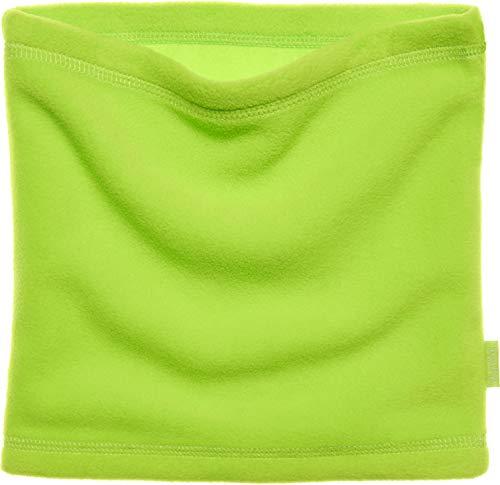 Playshoes Kinder-Unisex Fleece Schlauchschal, Oeko Tex Standard 100 softer Rundschal geeignet für kalte Tage, grün, one size