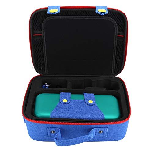 Bolsa de Transporte para máquina de Juego Bolsa de Almacenamiento para máquina de Juego de tamaño Compacto Aspecto Personalizado único Diseñado multifunción Máquina de(Green Blue)