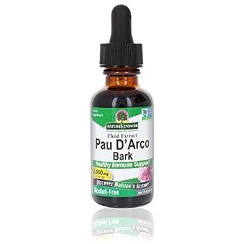 Qualité supérieure Natures answer Pau d' Arco, alcohol-free, 2000 mg (30 ml) - Nature's Answer Toujours frais produit
