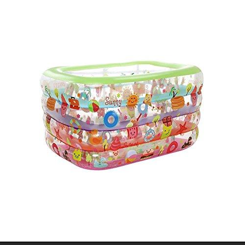 DALL Piscines gonflables Sûr Et Confortable Piscine Gonflable Piscine Familiale Piscine Piscine Pataugeoire pour Enfants Entertainment Piscine Grand Espace