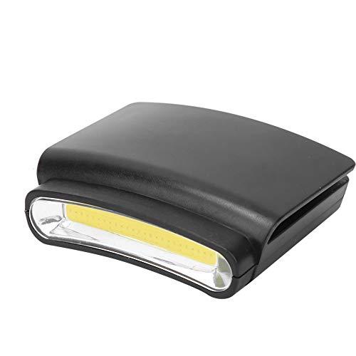 Draagbare koplamp, plastic led draagbare koplamp dop clip hoedrand mini koplamp buitenverlichting lamp voor fietsen, vissen, jagen,