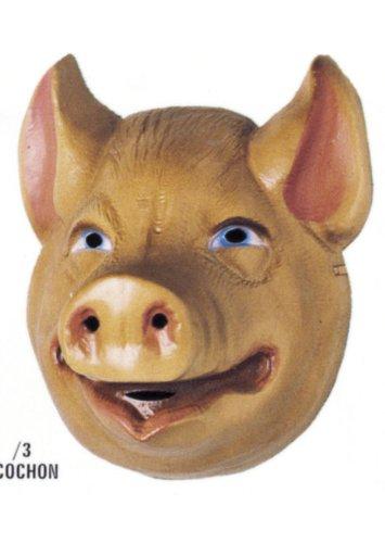 Cesar - A523-001 - Déguisement - Masque - Fable de la Fontaine - Cochon