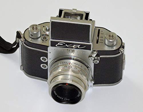 SLR Kamera EXA - von Ihagee Dresden - inkl. Objektiv TESSAR 2.8/50 Carl Zeiss JENA - Technik geprüft - Camera löst aus - by PHOTOBLITZ