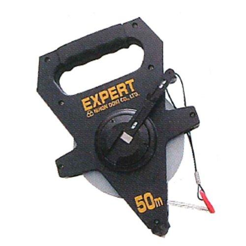 鋼製巻尺 エキスパート STE-50 50m ステンレステープ 日本度器