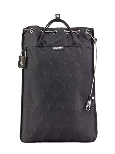 PacSafe Travelsafe 12L GII portable safe Umhängetasche, 52 cm, 12 liters, Schwarz (Black 100)