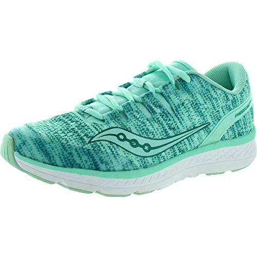 Saucony Mädchen Freedom ISO Laufschuhe, Blau (Aqua 008), 35 EU