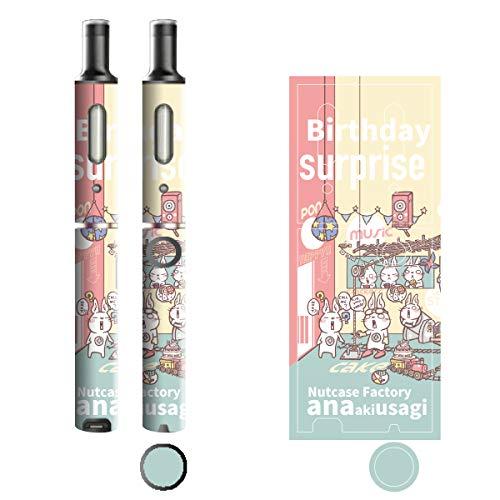 電子たばこ タバコ 煙草 喫煙具 専用スキンシール 対応機種 プルームテックプラスシール Ploom Tech Plus シール Nut Case Factory オリジナルイラスト 02 Nut Case 103-pt08-0002
