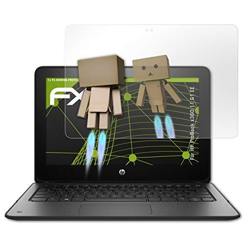 atFolix Bildschirmfolie kompatibel mit HP ProBook x360 11 G1 EE Spiegelfolie, Spiegeleffekt FX Schutzfolie