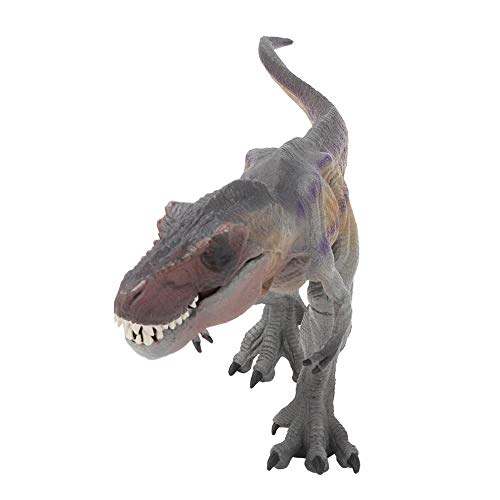 Zerodis Juguete de Dinosaurio, Estatua Modelo Animal Sólido Educativo Mundo Jurásico Juguetes de Dinosaurio Simulados de Plástico Juego para Niños Pequeños(Púrpura)