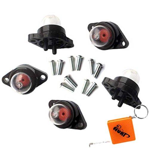 HURI 5x Primer Pumpe Ersetzt Walbro 188-513 530071835 530047213 für Vergaser WT119C, WT265, WT-119, WT-265 MC Culloch