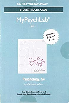 MyLab Psychology with Pearson eText -- Standalone Access Card -- for Psychology