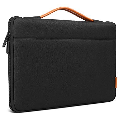 Inateck Tasche Hülle Kompatibel 16 Zoll MacBook Pro 2019/15,4 Zoll MacBook Pro Retina/XPS 15/15 Zoll Surface Book 2, Notebook Laptop Sleeve Hülle, Schwarz