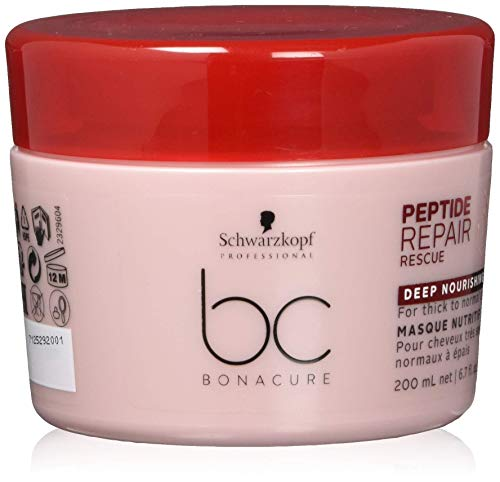 Schwarzkopf Professional BC Bonacure Peptide Repair Rescue Deep Nourishing Treatment Haarkur, 200 ml