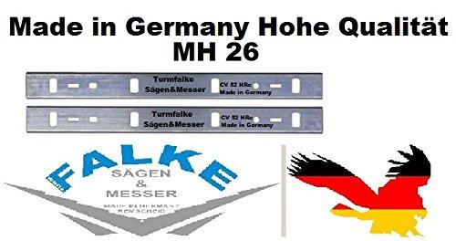 EMCO 2 Hobelmesser MH 26 ( 263x24x1 mm ) CV 52 HRc
