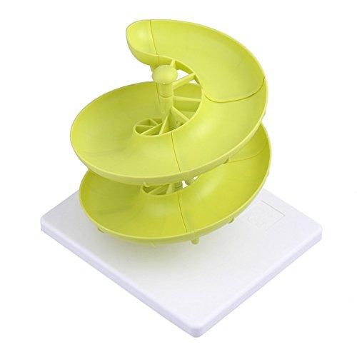 Generic Creative Plastique de haute qualité Oeuf Boîtes de rangement et paniers à œufs étagère spirale étagère de cuisine de stockage étagère de cuisine accessoire pour