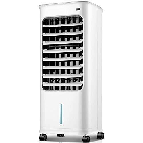 QIURUIXIANG Aire acondicionado enfriadores refrigerador refrigerador ventilador acondicionado cuarto de ventilador pequeño aire moviendo refrigerado por agua ventilador remoto QU529