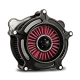 Black ops spike turbine air cleaner intake Fit for harley street glide touring 2000-2007, softail dyna 93-15 red filter