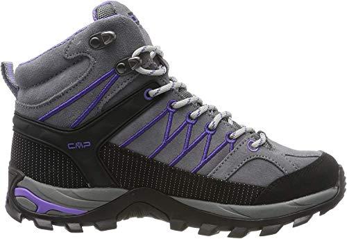 CMP Damen Rigel Mid Wmn Shoe Wp Trekking- & Wanderstiefel, Grau (Grey-Lapis 36ud), 40 EU