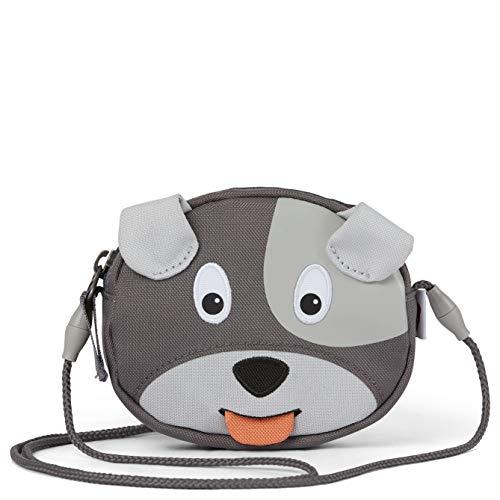 Affenzahn Portmonee für 1-5 Jährige im Kindergarten - Hund - Grau