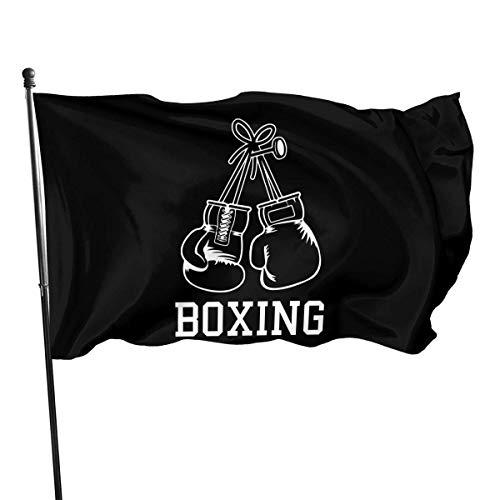 erjing 3X5Ft Flagge Boxhandschuhe Hausgarten Hof Flaggen 3 X 5 Fuß Wimpel Indoor Outdoor Herbst Flaggen Wandbanner Dekoration