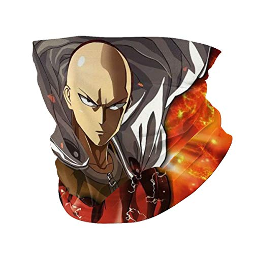 One-Punch Man Anime Men Woman Outdoor Multi Function Variety Head Scarf Windproof Sports Face Mask