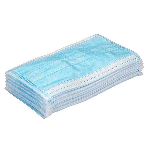 Disposàble EarloopFace Màsks, 50 unidades de nivel 3 Respiràtor Màsks para Surgica1 Denta1 polipropileno Màsks para protección personal de la salud, color aleatorio universal