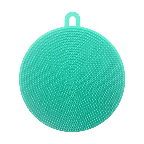 ARLT Magic Silicona lavavajillas para lavavajillas Plato Lavado Esponja Goma Exfoliante Guantes (Color : 1Piece Brush)