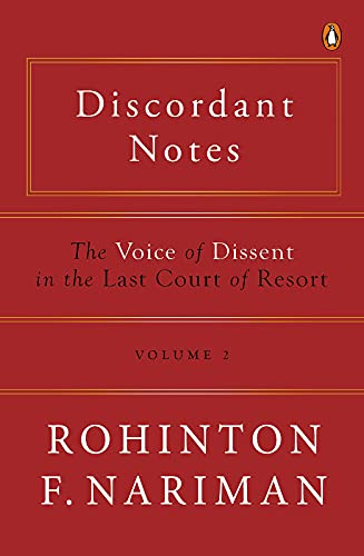Discordant Notes, Volume 2: The Voice of Dissent in The Last Court of Resort (English Edition)