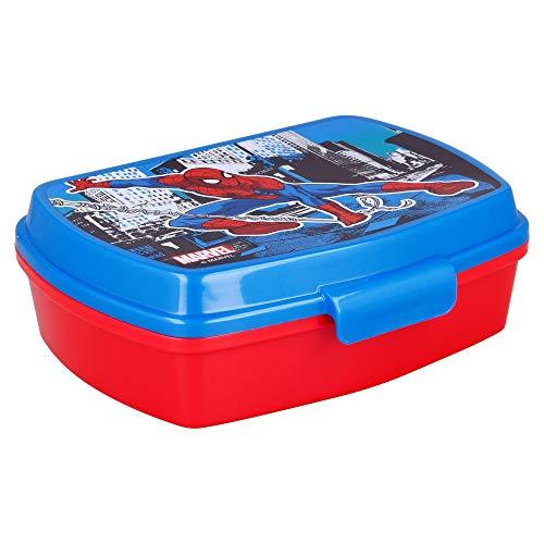 | Spiderman| Sandwichera Para Niños Decorada - Fiambrera In