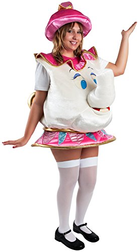 Wilton Adult Teapot Costume White/Pink