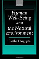 Human Well-Being and the Environment: Partha Dasgupta