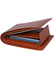 blissburry Leather Men's Wallet (3in1_Brown)