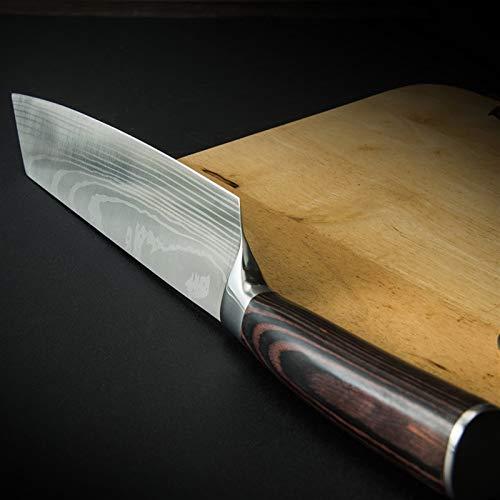 Cuchillo de corte chino cuchillo de 19 cm, cuchillo...