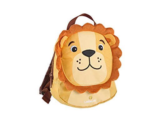LittleLife Lion Toddler Backpack with Safety Rein, Lwe, Einheitsgröße
