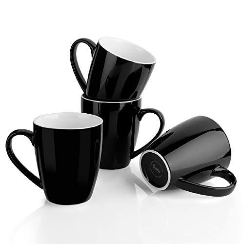 Sweese 601.114 Porcelain Mugs, Set of 4