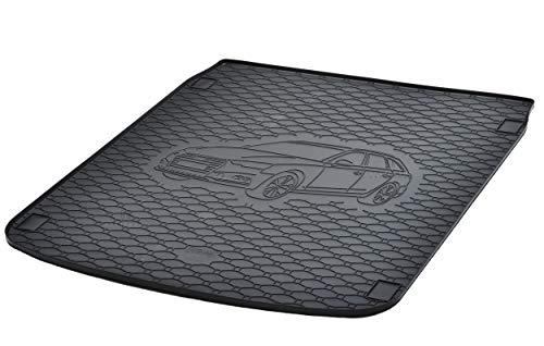 Kofferraumwanne Kofferraummatte Antirutsch RIGUM geeignet für Audi A4 Avant B9 Kombi ab 2015 Perfekt angepasst + EXTRA Auto DUFT